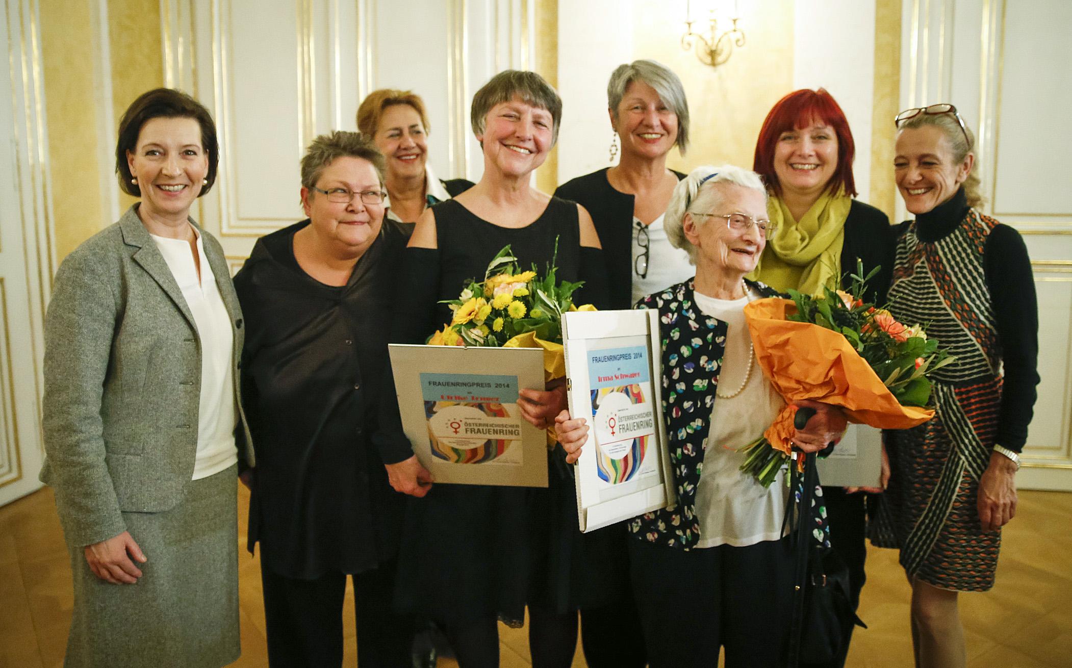 Frauenring-Preisträgerinnen 2014