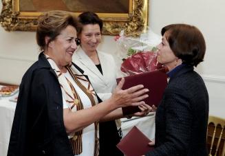 Vergabe des Frauenring-Preises 2011